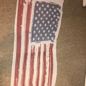 NWOT Red, White & Blue Scarf